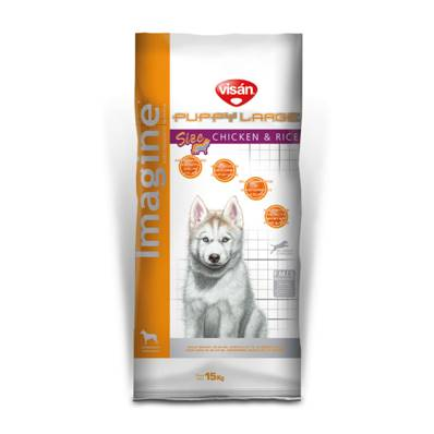 IMAGINE LARGE PUPPY Chicken & Rice en 15 Kg