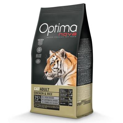 OPTIMA Chat Adulte Chicken & Rice en  8 Kg