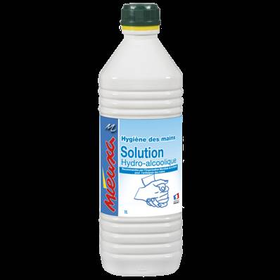 SOLUTION HYDRO-ALCOOLIQUE en  1 Litre