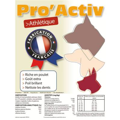 PRO'ACTIV ATHLETIQUE en 20 Kg (28/14)