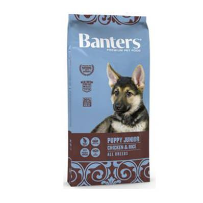 BANTERS PUPPY JUNIOR CHICKEN & RICE EN 3 KG