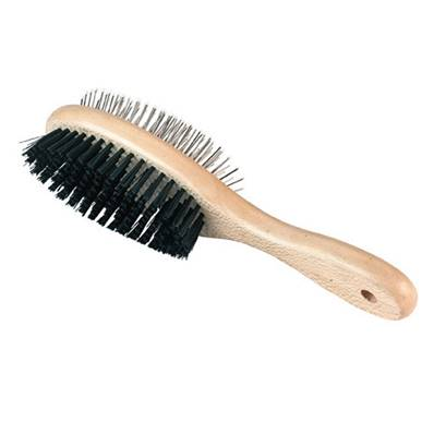 BROSSE OVALE DOUBLE BASIC CARE AVEC PROTECTIONS