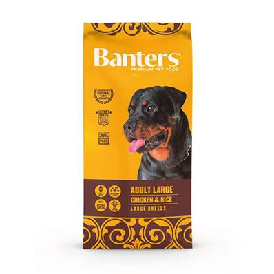 BANTERS ADULT LARGE CHICKEN & RICE  EN 15 KG