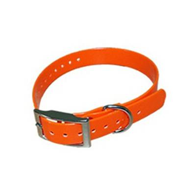COLLIER BIOTHANE BIOGOLD 45CM ORANGE