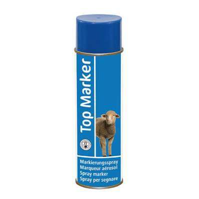 SPRAY MARQUAGE OVIN BLEU Top Marker en 500ml