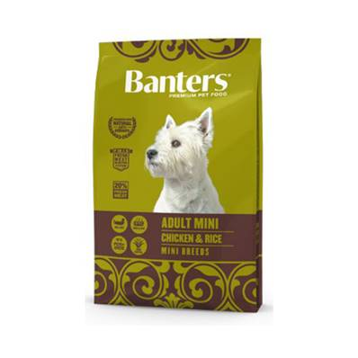 BANTERS ADULT MINI CHICKEN & RICE EN 3 KG