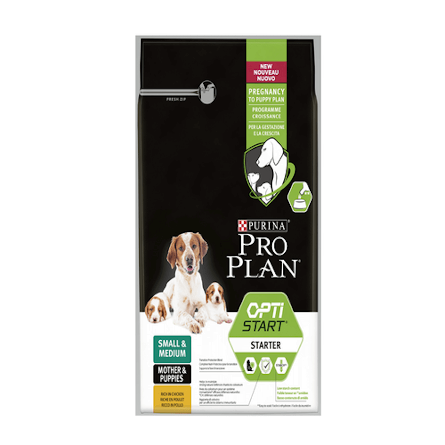 PROPLAN PUPPY STARTER SMALL & MEDIUM en 18 Kg