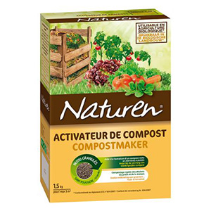ACTIVATEUR de compost Naturen en 1,5 Kg