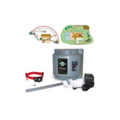 CLOTURE anti-fugues pour chien WIRELESS sans fil