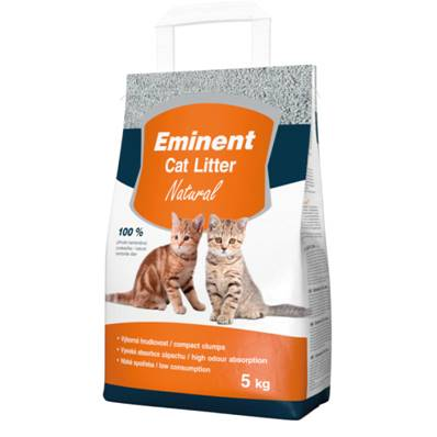 LITIERE Chat Eminent avec Nature en 5 kg
