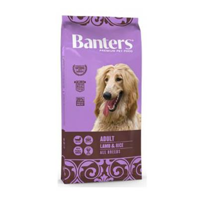 BANTERS ADULT LAMB & RICE EN 15 KG