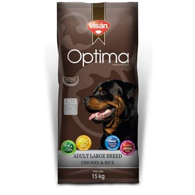 OPTIMA Chien Adulte Large Breed Chicken & Rice en 15 Kg