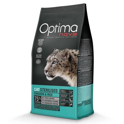 OPTIMA Chat Adulte Stérilised en  2 Kg