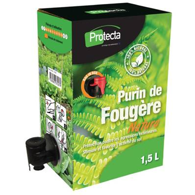 PURIN de fougère en bag in box de 1,5 litres