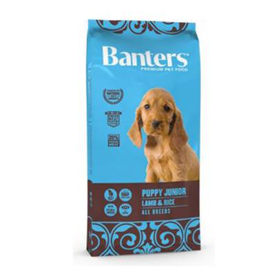 BANTERS PUPPY JUNIOR LAMB & RICE EN 15 KG